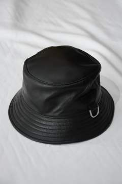 """LEATHER MOUNT HAT"