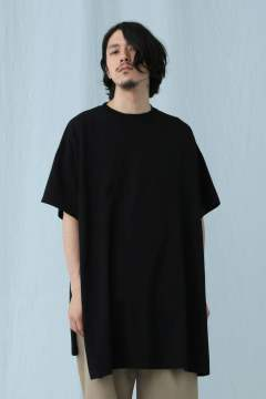 MODERN JERSEY STITCH BIG T (BLK)